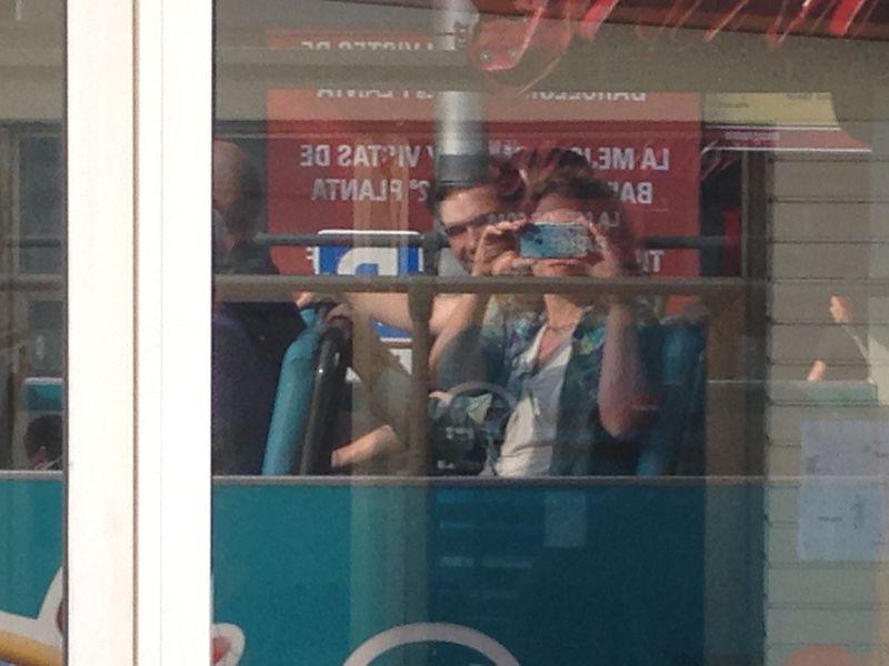 Couple_selfie window