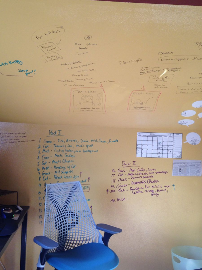 DIY Whiteboard Wall