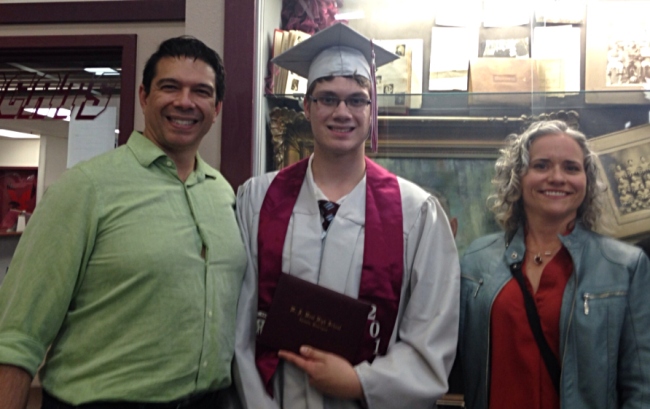 I'm Taking Today Off - Here Are Pics from the Stepson's Graduation