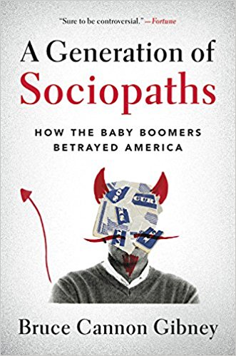 Generation of Sociopaths cover