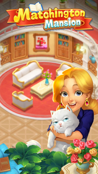 New Release in Games: Matchington Mansion!