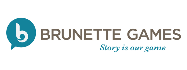 Announcing: The Brunette Games Logo