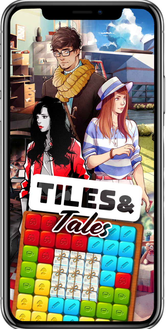 "Kuuhubb, Brunette Games Announce Development of New Game ""Tiles & Tales"""