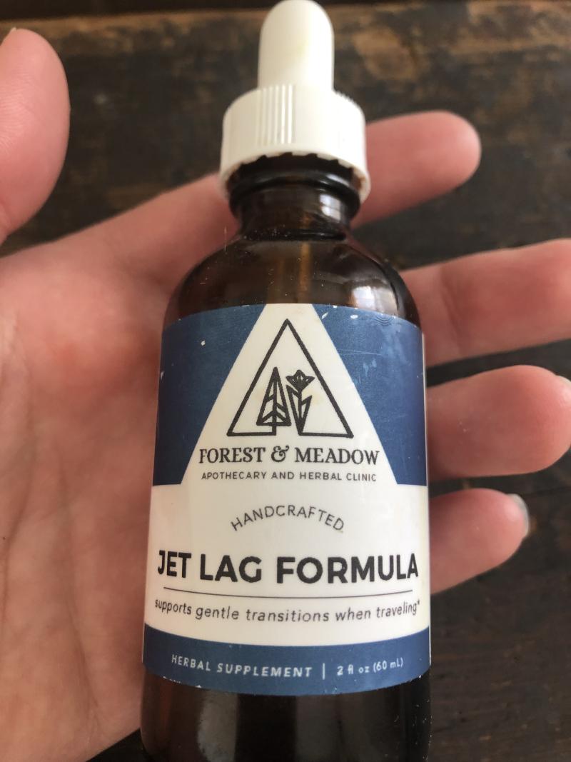 Jet lag formula
