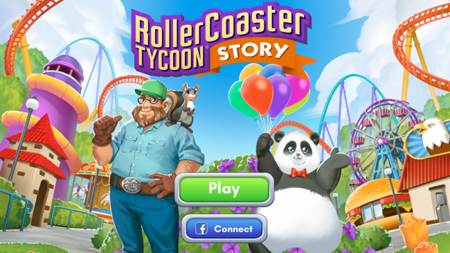 New Release! 'RollerCoaster Tycoon Story' for Atari and Graphite Lab