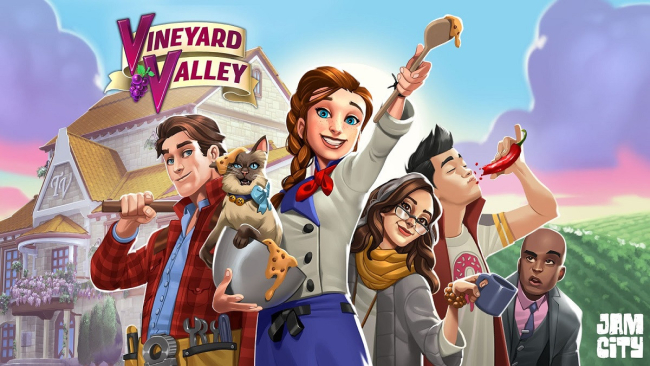 New Release! 'Vineyard Valley' for Jam City