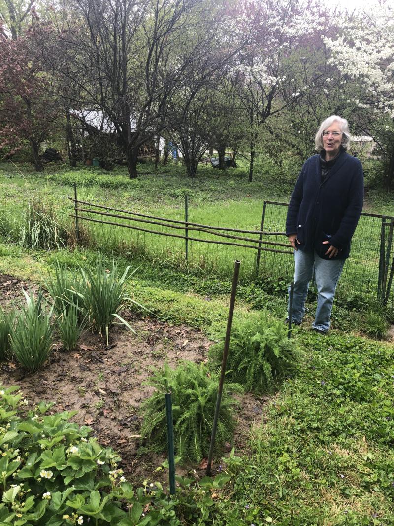 Claire in Garden