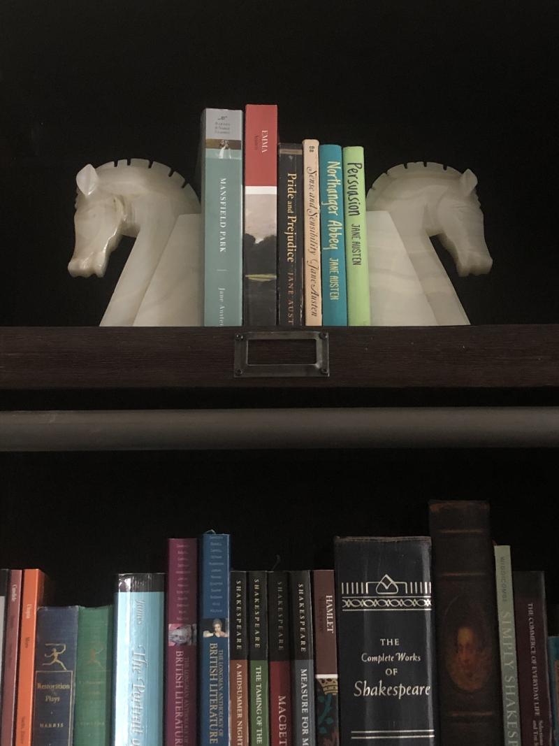 Living Room Horses