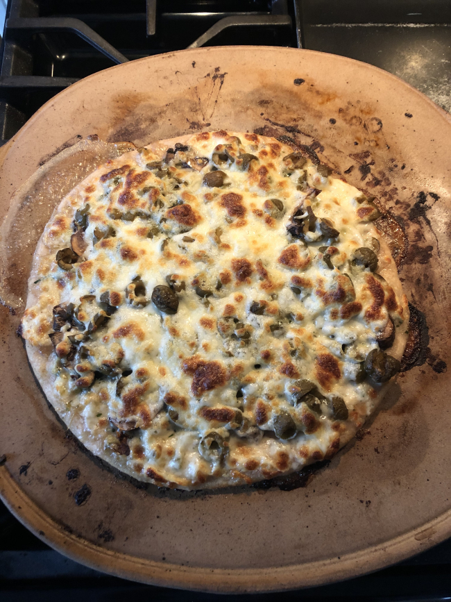 Once You Bake Your Own Sourdough Pizza Crust, You're Ruined for All Other Pizza